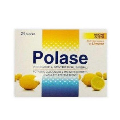 Polase Limone 24 Bustine sali minerali con magnesio e potassio
