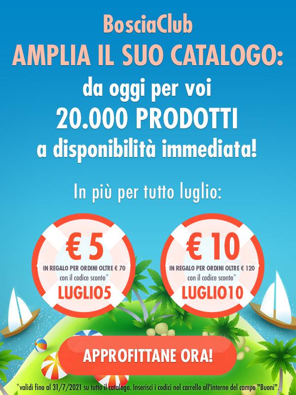 BosciaClub amplia il suo catalogo: da oggi per voi 20.000 prodotti a disponibilità immediata!