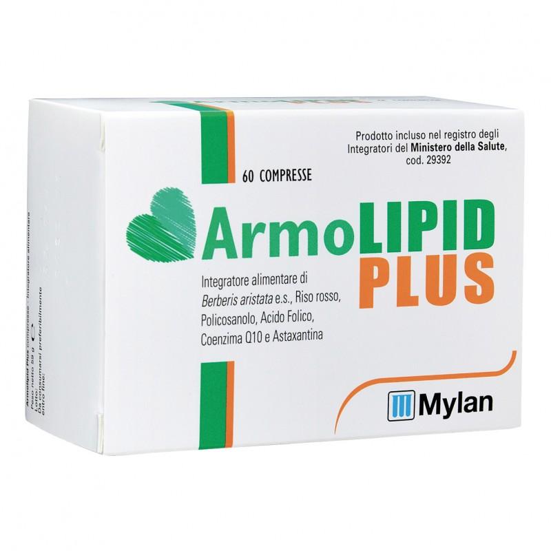 4 confezioni Armolipid Plus 60 Compresse Integratore per il Colesterolo