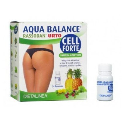 GDP Aqua balance cell forte integratore 24 flaconcini