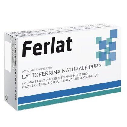 HI pharma Ferlat Lattoferrina naturale pura 40 compresse