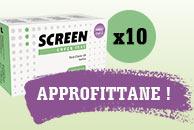 Test salivare covid 19 - pacco da 10 pezzi