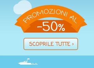 Promozioni al 50%