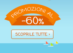 Promozioni al 60%