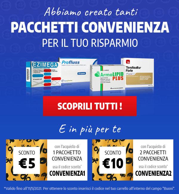 Abbiamo creato tanti pacchetti convenienza pensati per il tuo risparmio